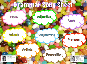 Grammarsheet